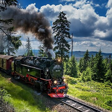 Steam locomotive - Harz narrow gauge railways (Germany) by Dagostino