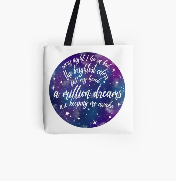 The Greatest Showman - A Million Dreams All Over Print Tote Bag