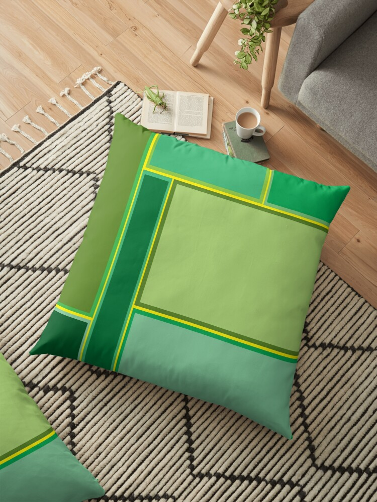 Retro Pattern / Mighty Green by Echo Store
