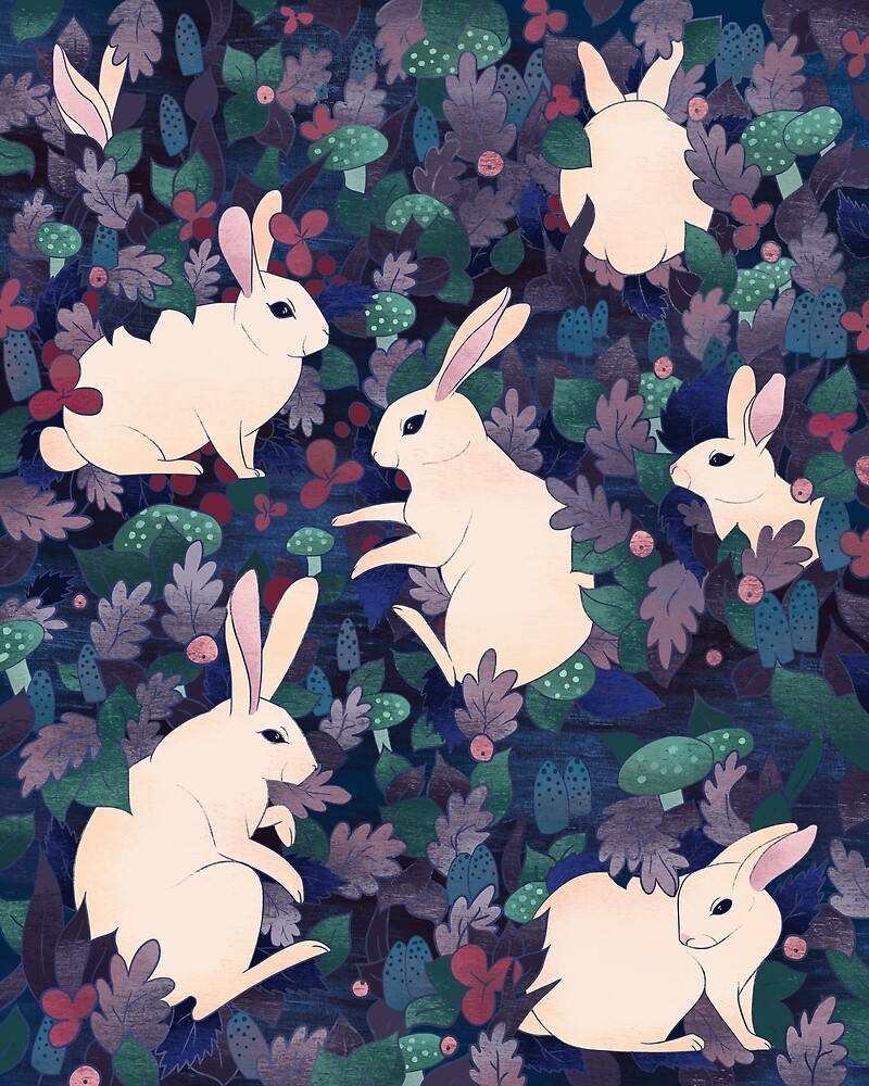 Rabbits by beesants