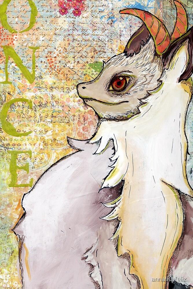Wishing Dragon Card by annalisafeliz