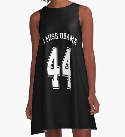 I Miss Obama 44 A-Line Dress
