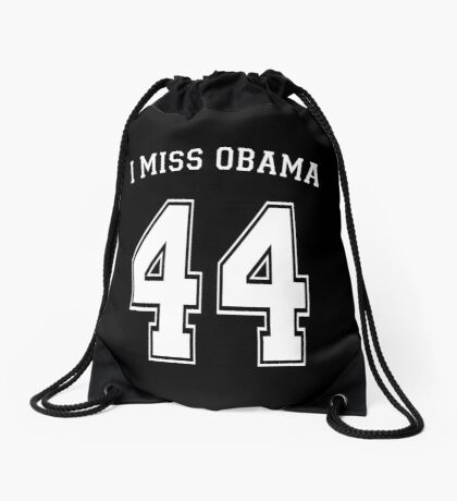 I Miss Obama 44 Drawstring Bag