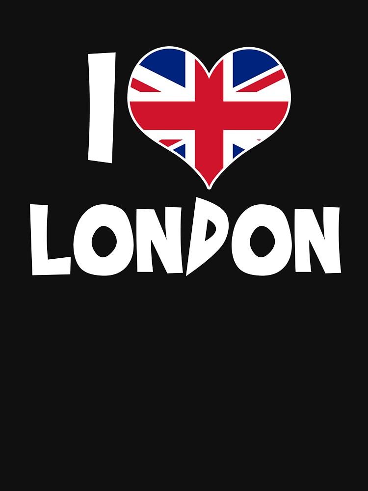 I love London by IchliebeT-Shirt