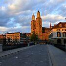 Evening in Zurich by Vaengi
