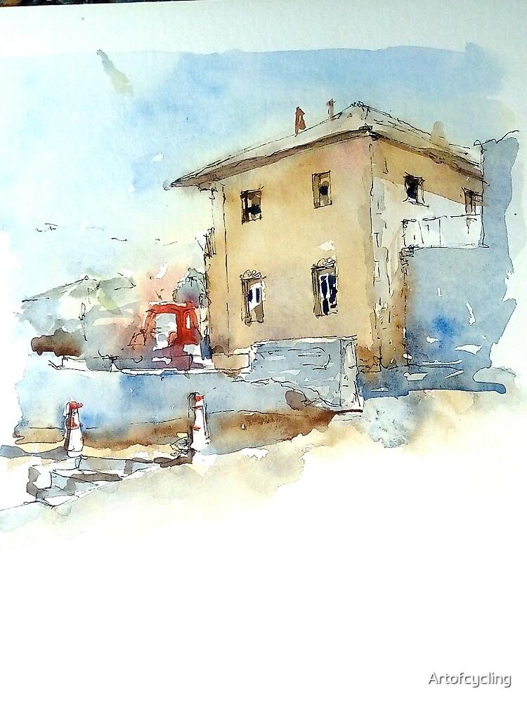 Farmer's house by Artofcycling