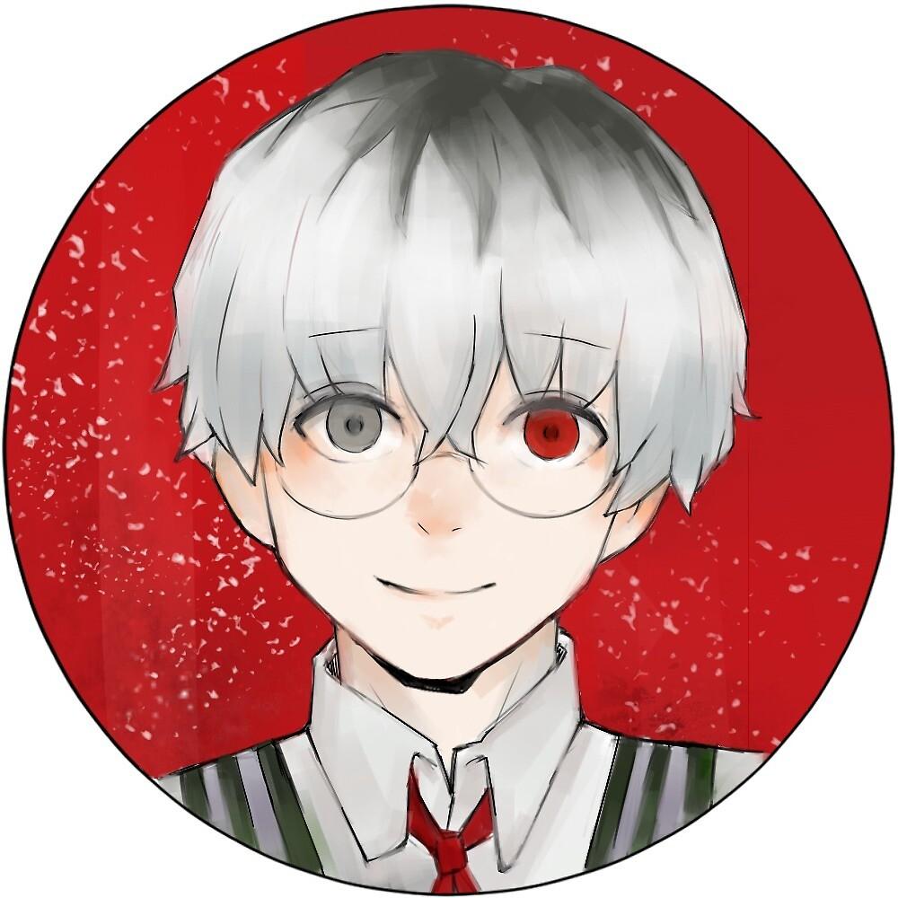Haise Sasaki Sticker by marmarie