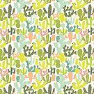 Cactus Garden by southerlydesign
