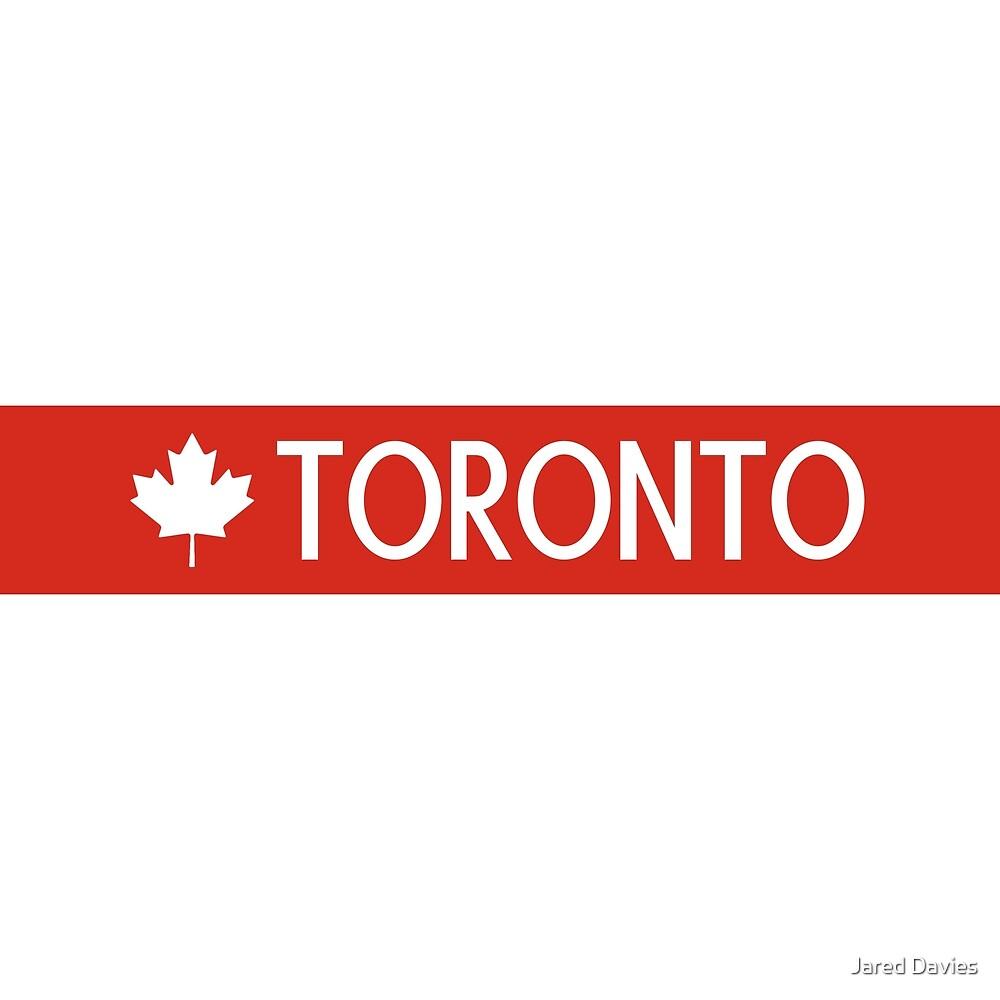 Toronto (White Maple Leaf) by MilitaryCandA