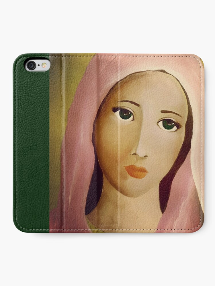 Alternate view of Mother Mary iPhone Wallet