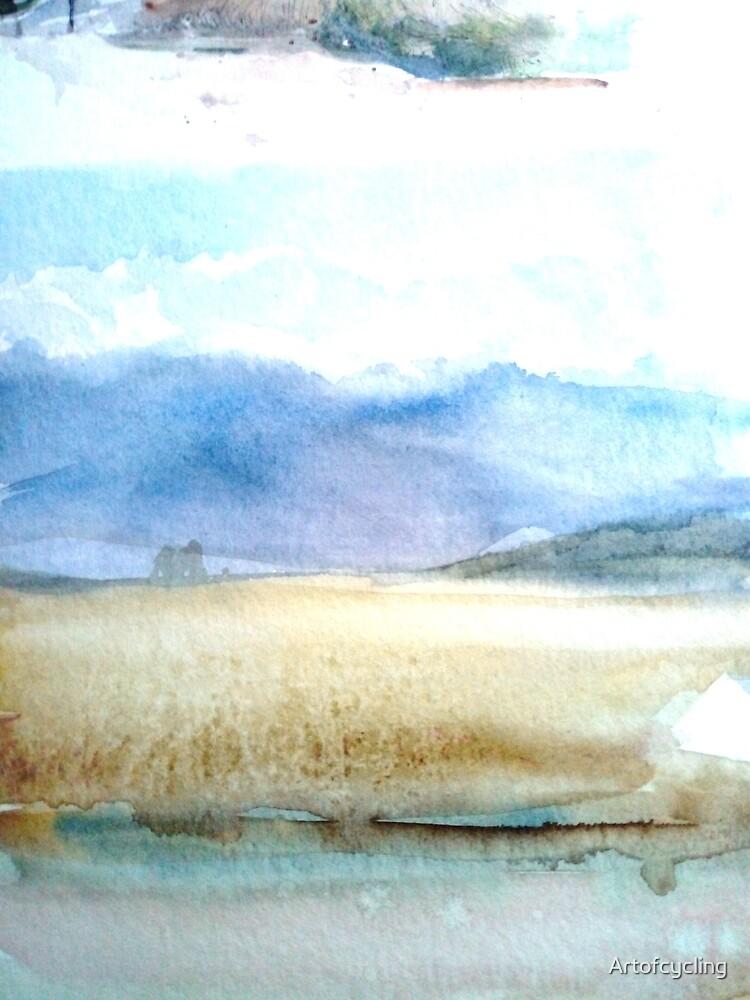 Field and sky by Artofcycling