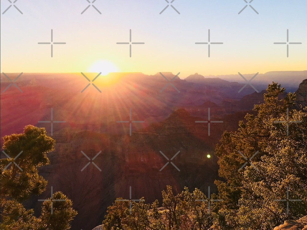 sunrise on the grand canyon by jacktmc