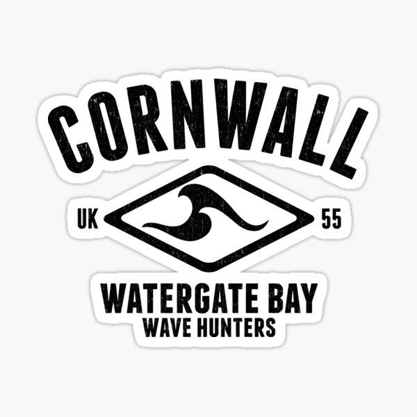 CORNWALL VINTAGE SURF DESIGN, BY SUBGIRL Sticker
