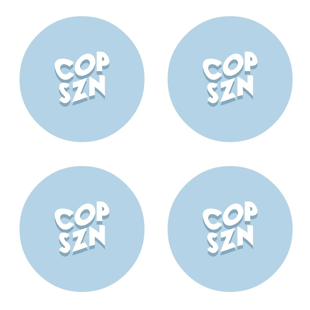 copszn mini logo stickers by AidansSneakerS