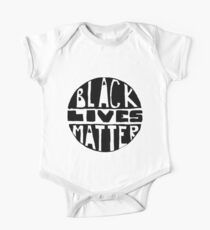 Black Lives Matter - Filled One Piece - Short Sleeve