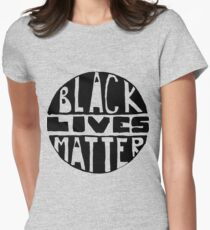 Black Lives Matter - Filled Women's Fitted T-Shirt