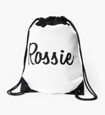 Hey Rossie buy this now Drawstring Bag