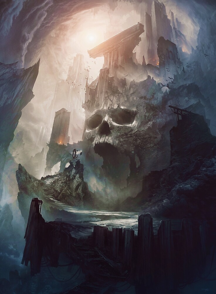 Cursed Citadel by VadimF