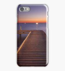Strange lights in the distance iPhone Case/Skin