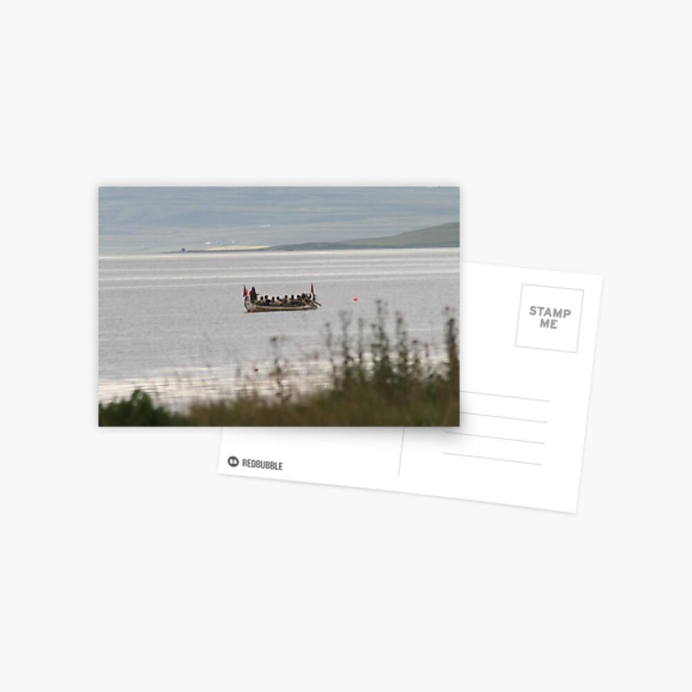 Towards Gairsay Postcard