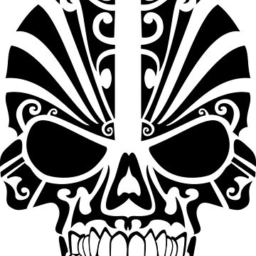 Skull black by lured