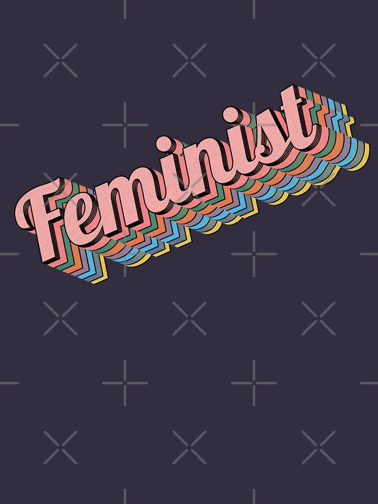 Feminist Retro Typography by dk80