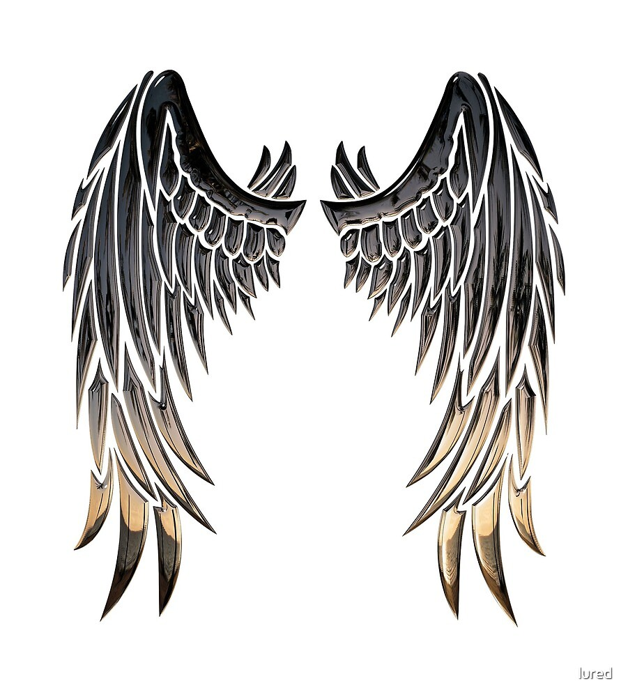 angel wings by lured