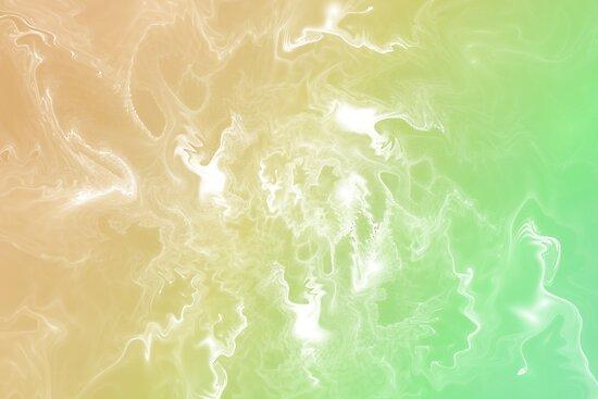 Green and yellow by Klavdiya Krinichnaya