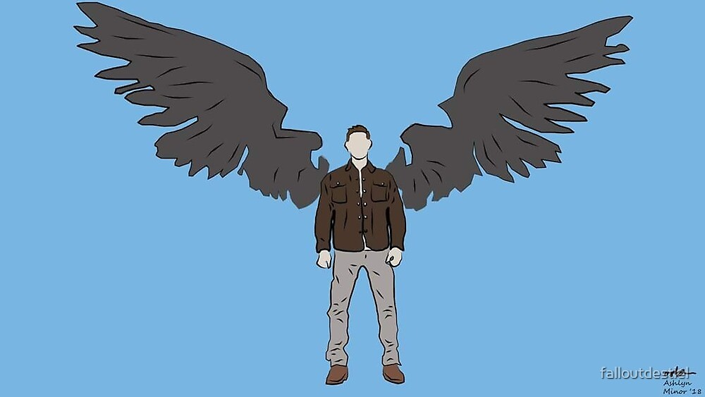 Dean Winchester digital drawing. by falloutdestiel