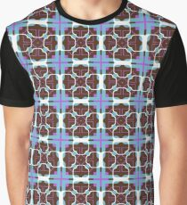 square decor rectangles seamless colorful repeat pattern Graphic T-Shirt