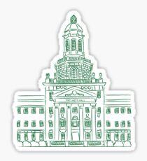 Baylor University Pat Neff Hall Sticker