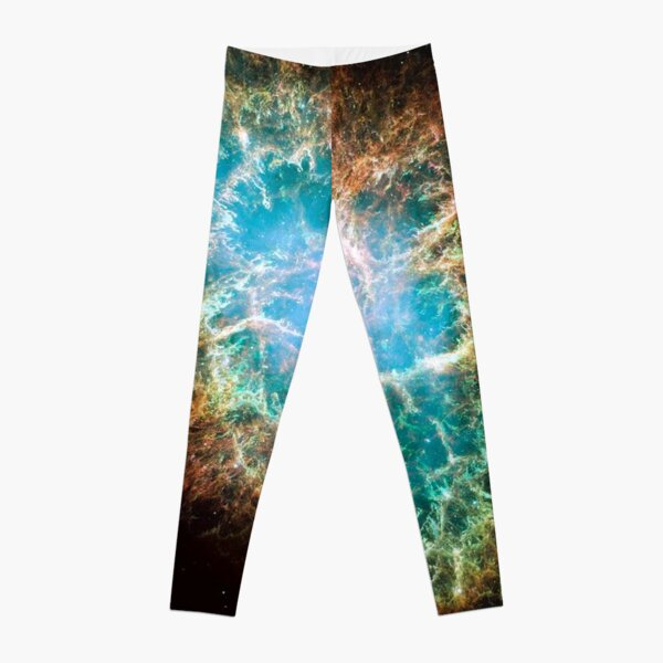 Crab Nebula, #Crab, #Nebula, #CrabNebula,  #fog, #nebulae, #interstellar, #cloud, #dust, #hydrogen, #helium, #ionized, #gases,  #astronomical, #object, #MilkyWay, #Andromeda,  #galaxies, #Hubble Leggings