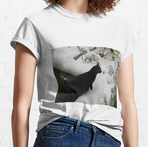 Schneekatze Classic T-Shirt