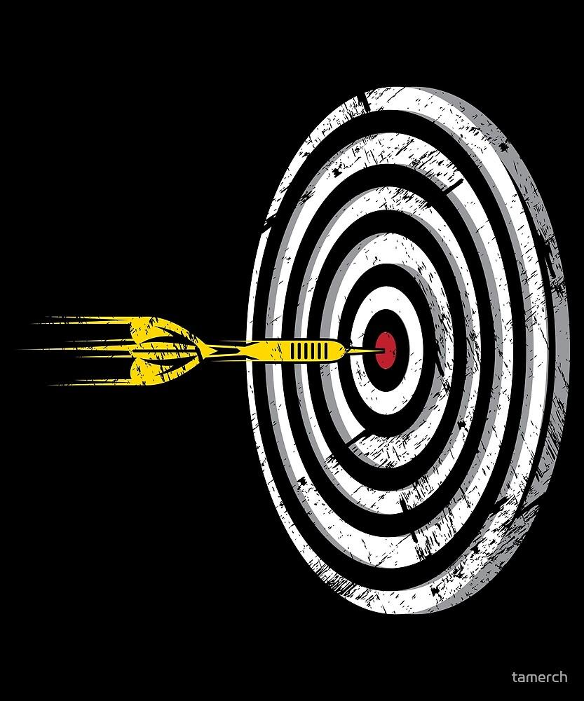 Darts Sport Arrow Bullseye 180 by tamerch