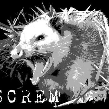 i haev bigg mouff an i must screm by ohnowhy