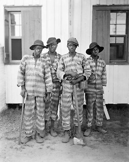 Southern Chain Gang Photo - 1903 by warishellstore