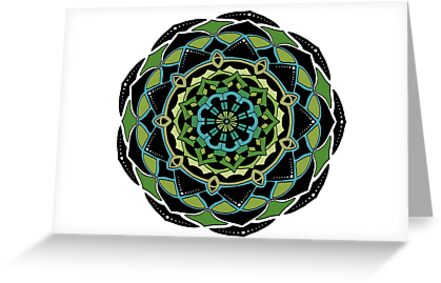 Marine Life Mandala by Nancycurb