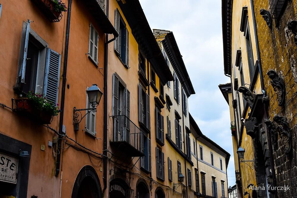 The Quaint Streets of Orvieto, Italy by Alana Yurczyk
