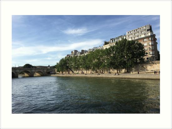 Paris, France - Seine by WorldWonders