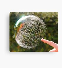 Bubble Rip, Storm Wave Canvas Print