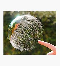 Bubble Rip, Storm Wave Photographic Print