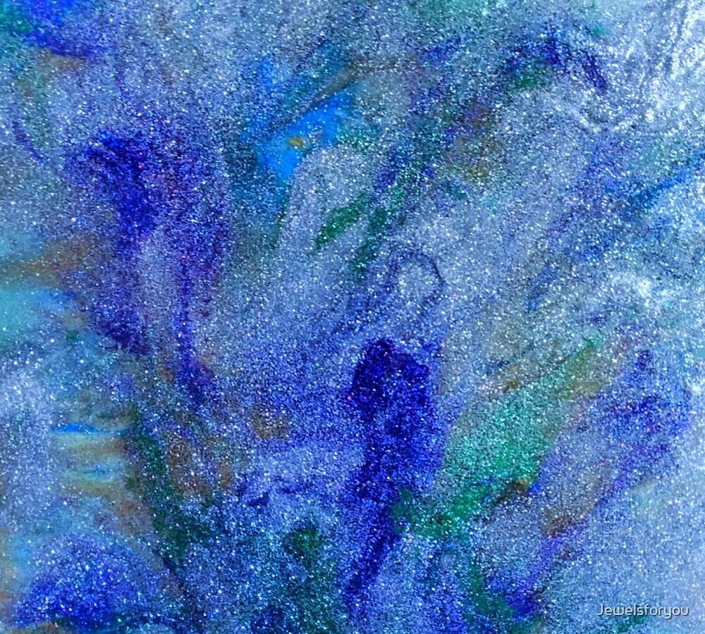 blue sparkle by Jewelsforyou