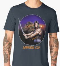Samurai Cop 80s B-Movie T Shirt  Men's Premium T-Shirt