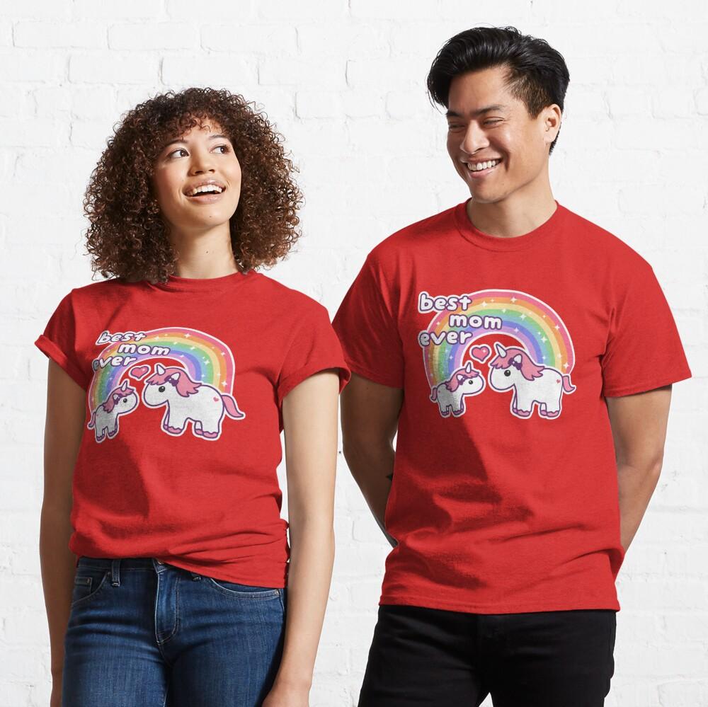 Cute Unicorn Mom Classic T-Shirt