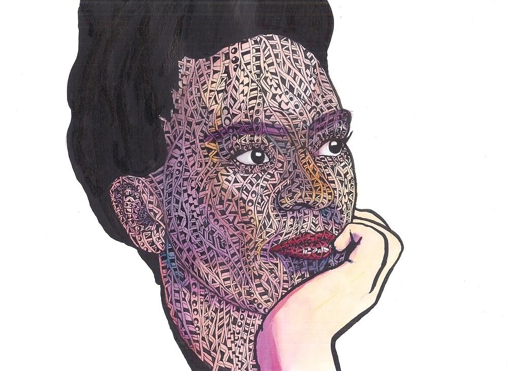frida kahlo by BenRoback