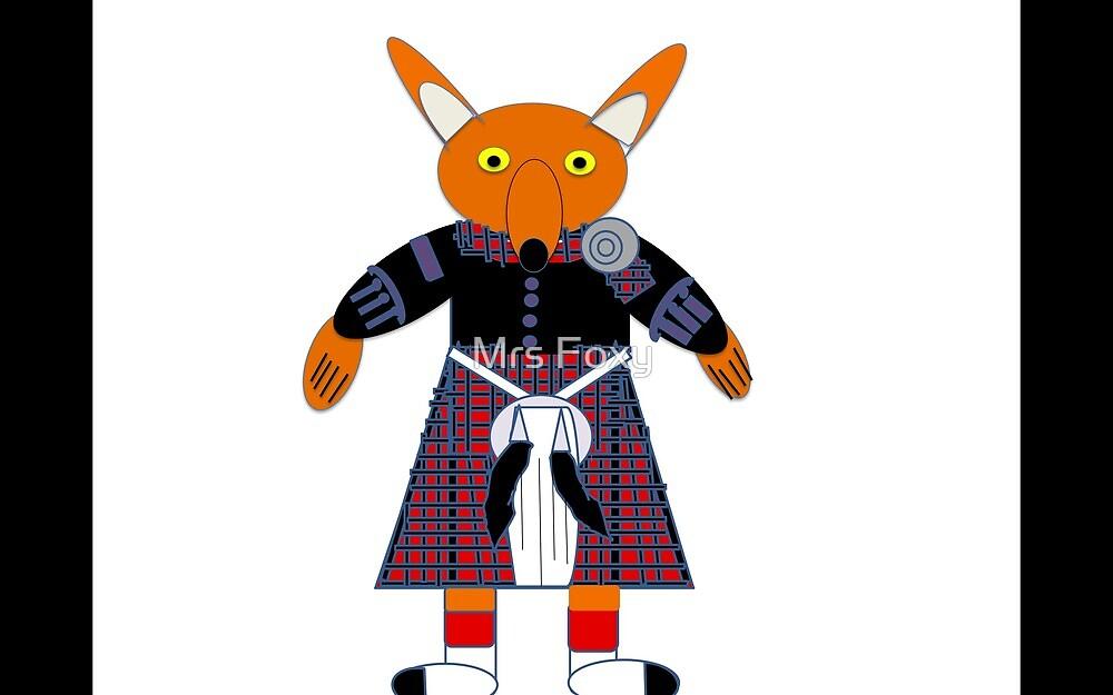Mr Foxy Highland Band (Army Scotland) by Mrs Foxy