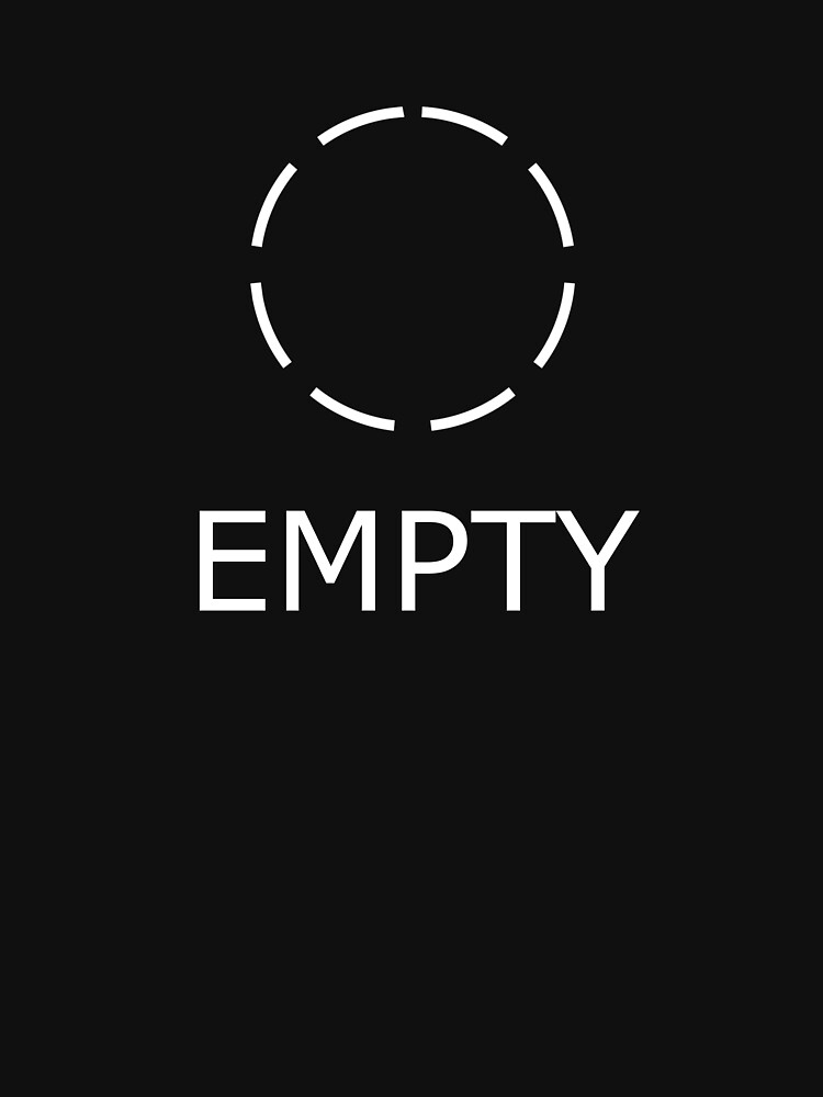 Empty / Empty by hollowsaibot