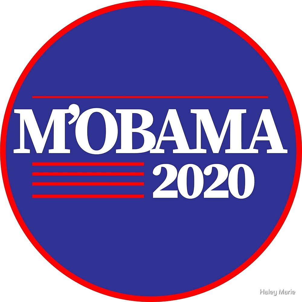 Michelle Obama 2020 by Haley Marie