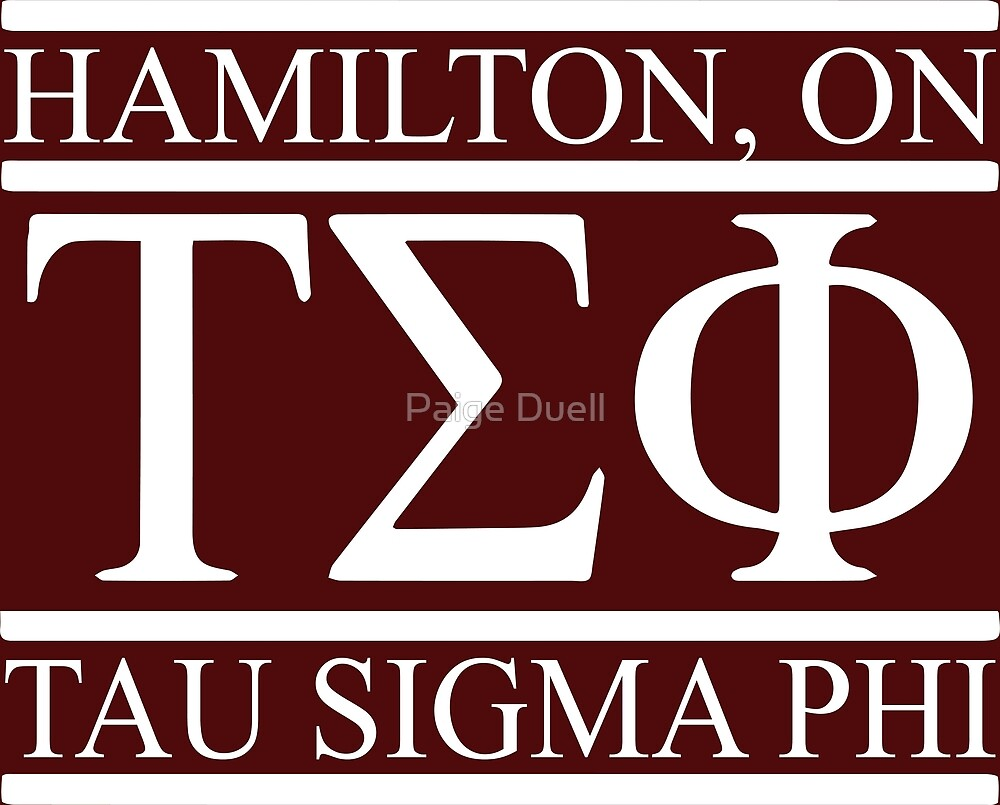 tau sigma phi by Paige Duell
