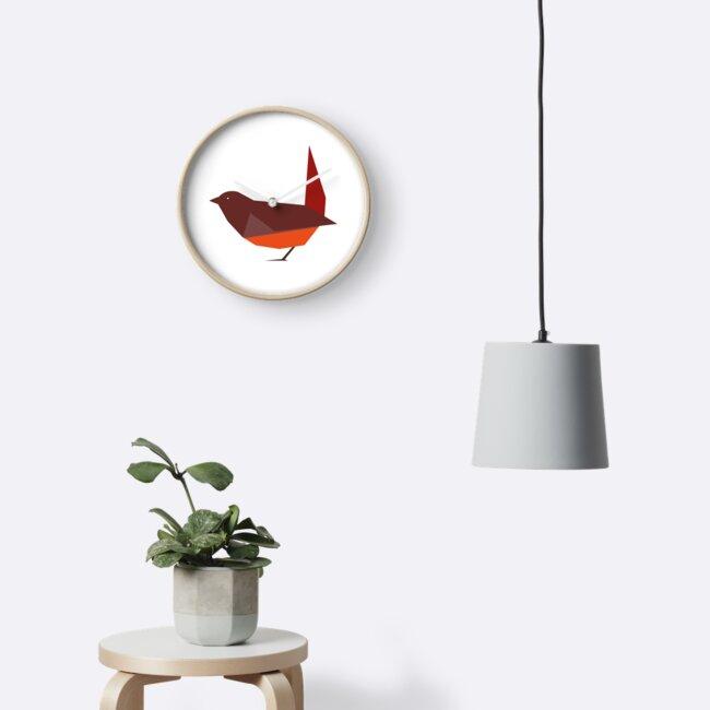 Pequeña ave roja by LeoBarreraT